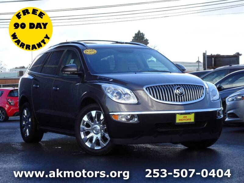 2011 Buick Enclave for sale at AK Motors in Tacoma WA
