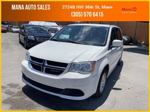 2012 Dodge Grand Caravan for sale at MANA AUTO SALES in Miami FL