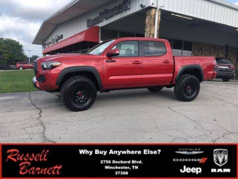 2017 Toyota Tacoma for sale at Russell Barnett Chrysler Dodge Jeep Ram in Winchester TN