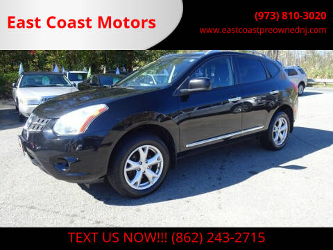 2011 Nissan Rogue for sale at East Coast Motors in Lake Hopatcong NJ