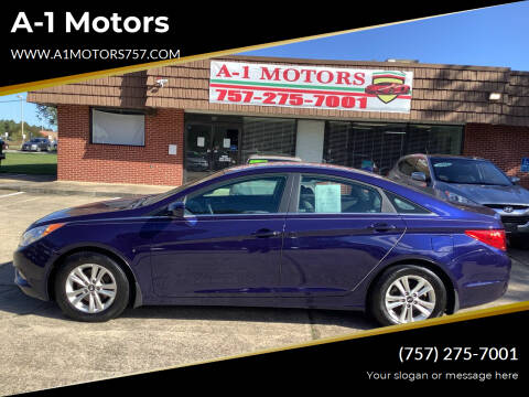 2013 Hyundai Sonata for sale at A-1 Motors in Virginia Beach VA