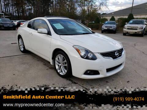 2011 Nissan Altima for sale at Smithfield Auto Center LLC in Smithfield NC