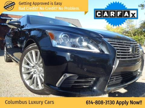 2017 Lexus LS 460 for sale at Columbus Luxury Cars in Columbus OH