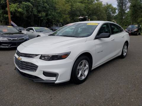 2016 Chevrolet Malibu for sale at CENTRAL GROUP in Raritan NJ