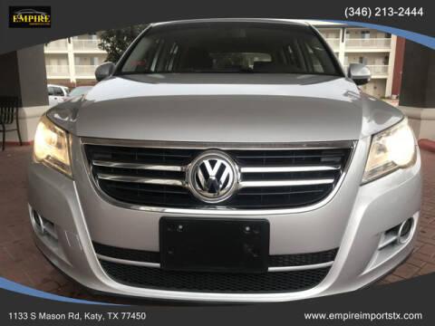 2009 Volkswagen Tiguan for sale at EMPIREIMPORTSTX.COM in Katy TX