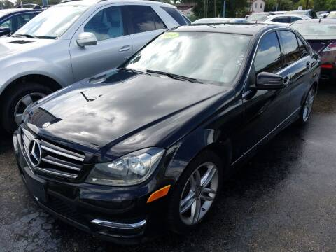 2014 Mercedes-Benz C-Class for sale at P S AUTO ENTERPRISES INC in Miramar FL