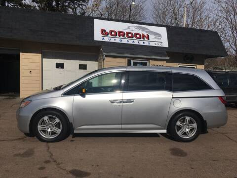 2011 Honda Odyssey for sale at Gordon Auto Sales LLC in Sioux City IA