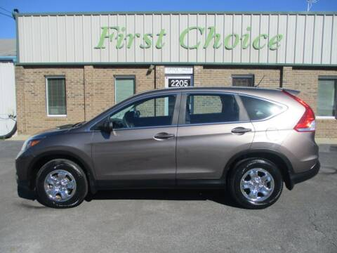 2014 Honda CR-V for sale at First Choice Auto in Greenville SC
