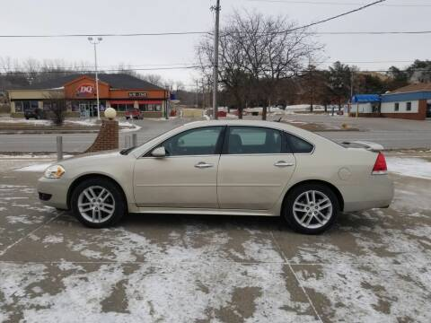 2012 Chevrolet Impala for sale at RIVERSIDE AUTO SALES in Sioux City IA