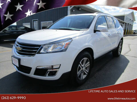 2016 Chevrolet Traverse for sale at Lifetime Auto Sales and Service in West Bend WI