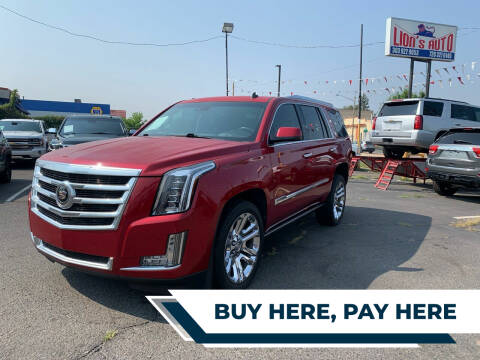2015 Cadillac Escalade for sale at Lion's Auto INC in Denver CO