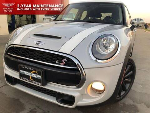 2017 MINI Hardtop 4 Door for sale at European Motors Inc in Plano TX