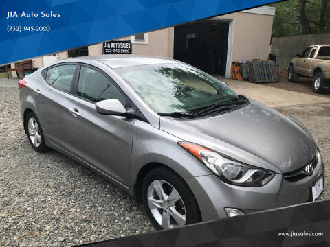 2012 Hyundai Elantra for sale at JIA Auto Sales in Port Monmouth NJ