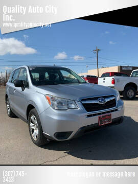2014 Subaru Forester for sale at Quality Auto City Inc. in Laramie WY