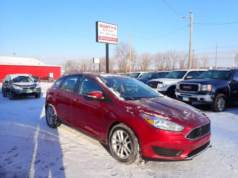2017 Ford Focus for sale at Marty's Auto Sales in Savage MN