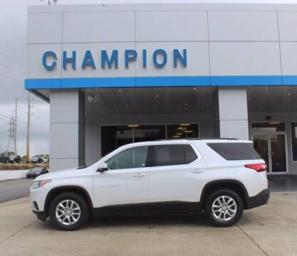 2019 Chevrolet Traverse for sale at Champion Chevrolet in Athens AL