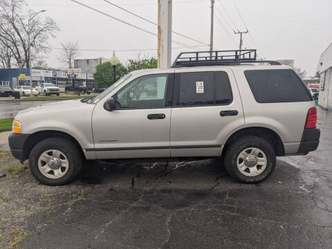 2004 Ford Explorer for sale at GREAT DEALS ON WHEELS in Michigan City IN