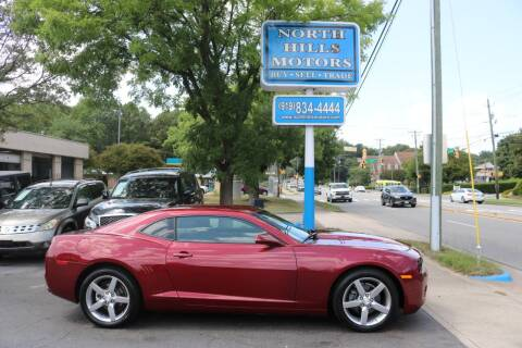 2011 Chevrolet Camaro for sale at North Hills Motors in Raleigh NC