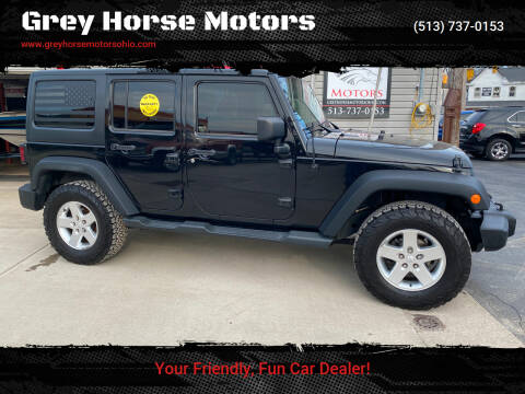 2013 Jeep Wrangler Unlimited for sale at Grey Horse Motors in Hamilton OH