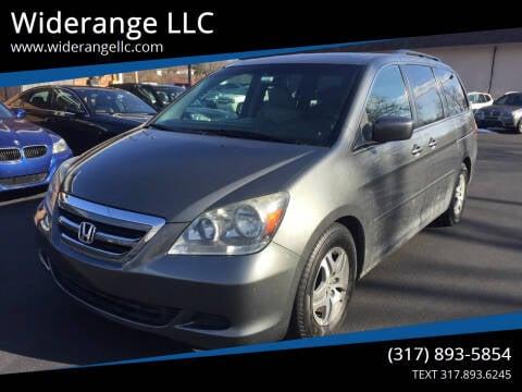 2007 Honda Odyssey for sale at Widerange LLC in Greenwood IN