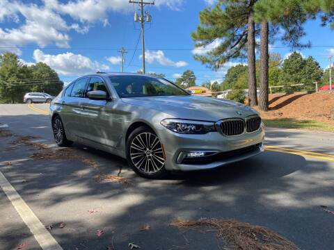 2017 BMW 5 Series for sale at THE AUTO FINDERS in Durham NC
