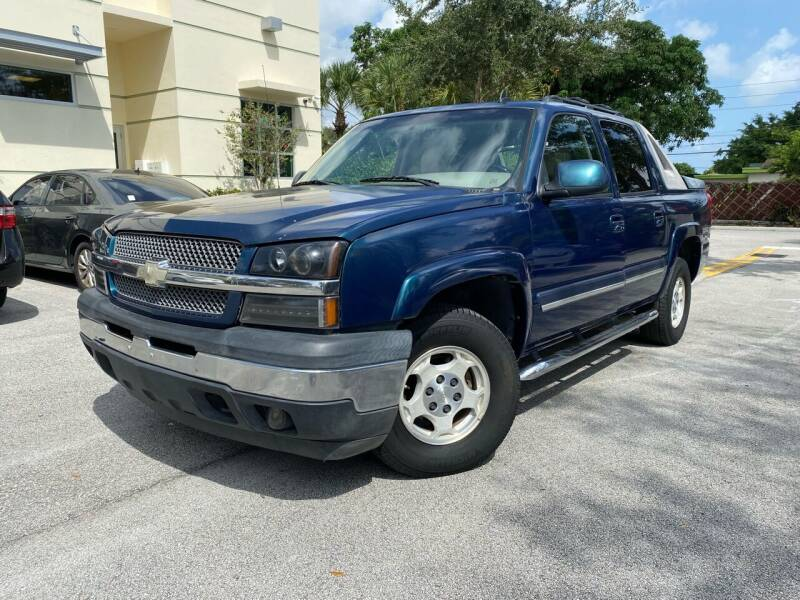 2006 Chevrolet Avalanche for sale at Car Net Auto Sales in Plantation FL