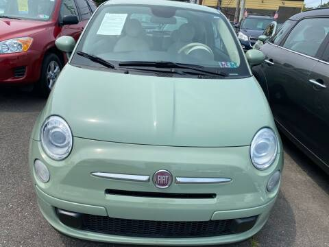 2014 FIAT 500 for sale at Primary Motors Inc in Commack NY