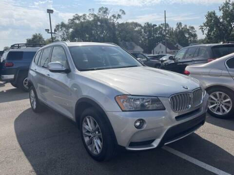 2014 BMW X3 for sale at SOUTHFIELD QUALITY CARS in Detroit MI