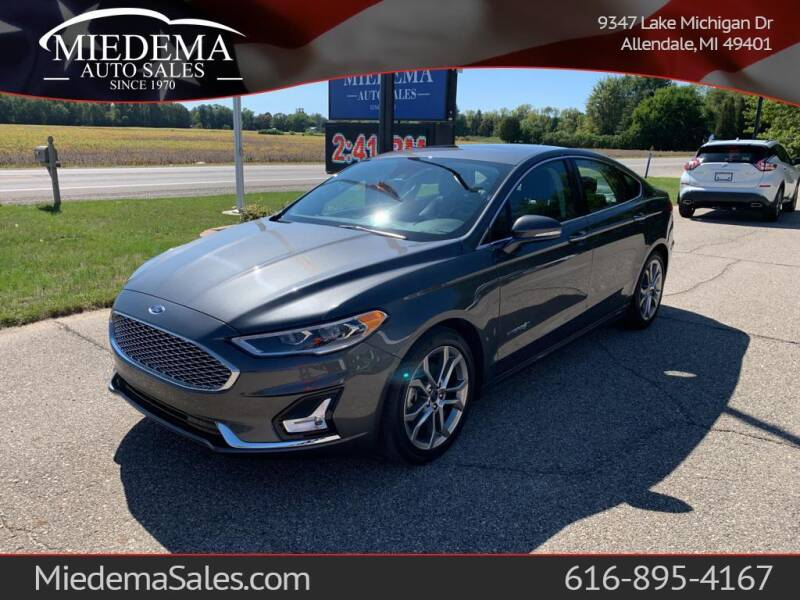 2019 Ford Fusion Hybrid for sale at Miedema Auto Sales in Allendale MI