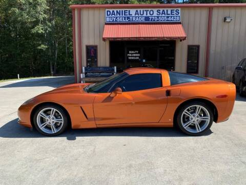 2009 Chevrolet Corvette for sale at Daniel Used Auto Sales in Dallas GA