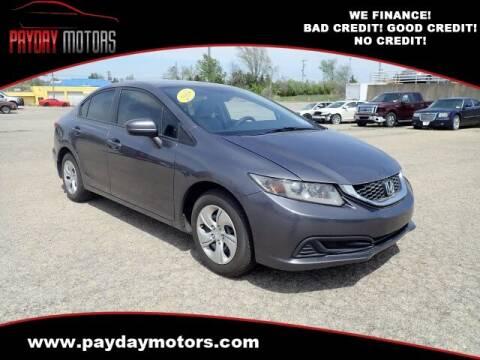 2014 Honda Civic for sale at Payday Motors in Wichita And Topeka KS