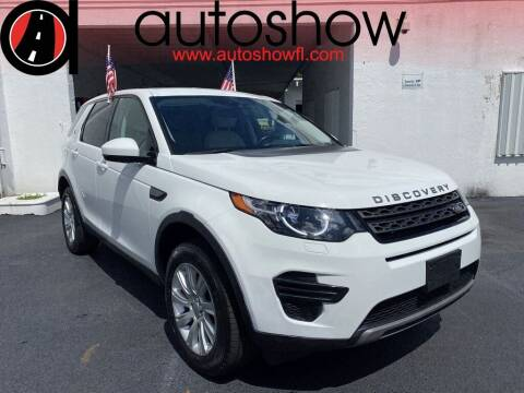 2016 Land Rover Discovery Sport for sale at AUTOSHOW SALES & SERVICE in Plantation FL