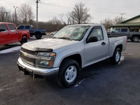 2006 Chevrolet Colorado for sale at Ridgeway's Auto Sales in West Frankfort IL