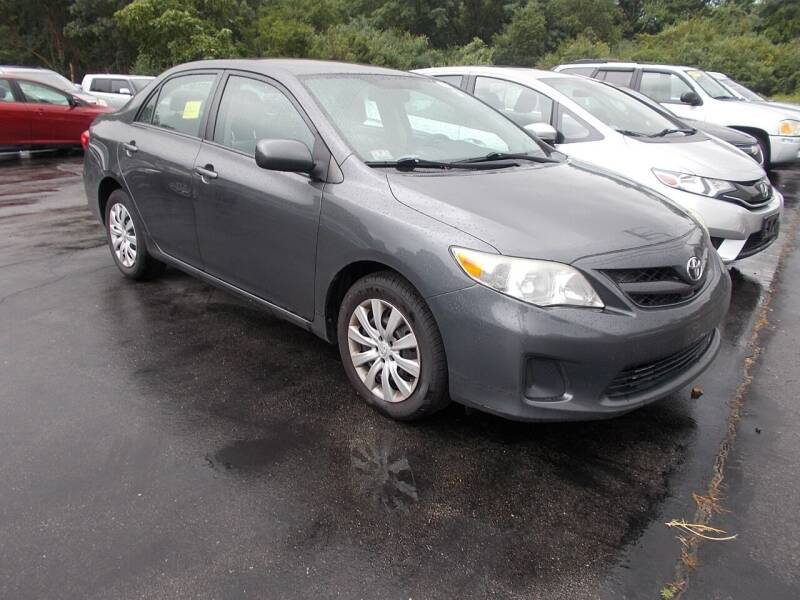 2012 Toyota Corolla for sale at MATTESON MOTORS in Raynham MA