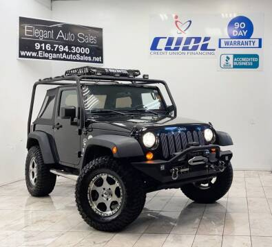 2008 Jeep Wrangler for sale at Elegant Auto Sales in Rancho Cordova CA