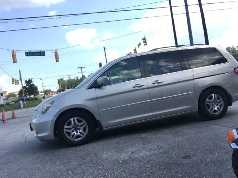 2005 Honda Odyssey for sale at STAN EGAN'S AUTO WORLD, INC. in Greer SC