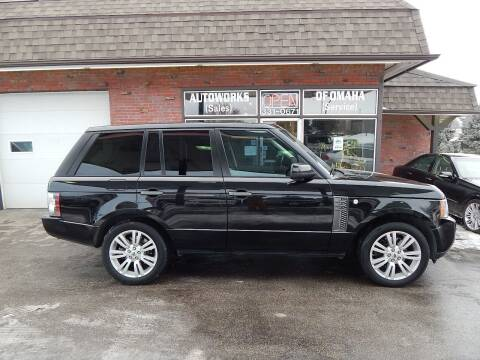 2011 Land Rover Range Rover for sale at AUTOWORKS OF OMAHA INC in Omaha NE