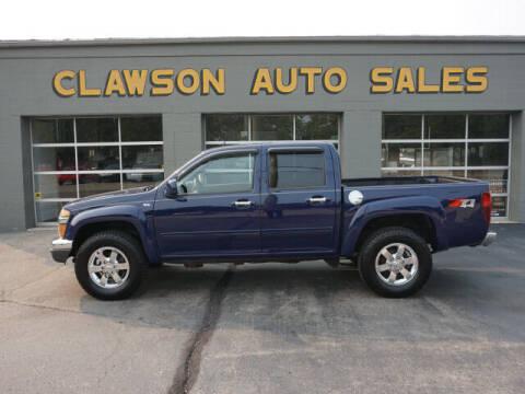 2012 Chevrolet Colorado for sale at Clawson Auto Sales in Clawson MI