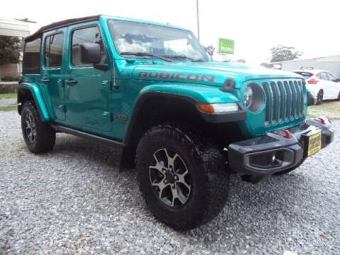 2019 Jeep Wrangler Unlimited for sale at PICAYUNE AUTO SALES in Picayune MS
