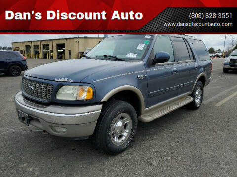 2002 Ford Expedition for sale at Dan's Discount Auto in Gaston SC