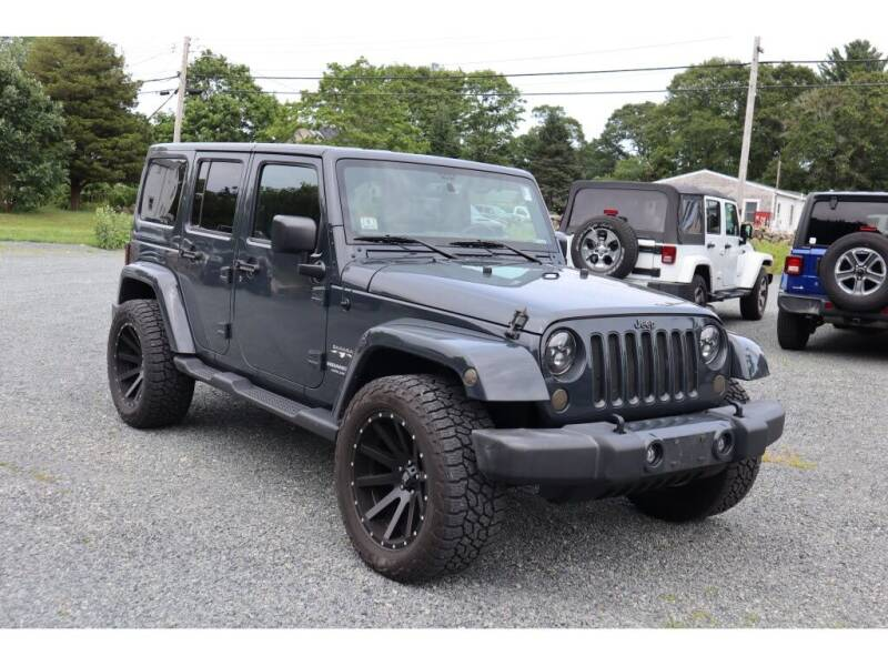 2017 Jeep Wrangler Unlimited for sale in Marion, MA