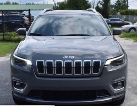 2020 Jeep Cherokee for sale at Ultimate Car Solutions in Pompano Beach FL