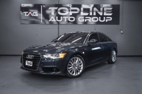 2012 Audi A6 for sale at TOPLINE AUTO GROUP in Kent WA