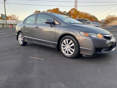 2011 Honda Civic for sale at GTO United Auto Sales LLC in Lawrenceville GA