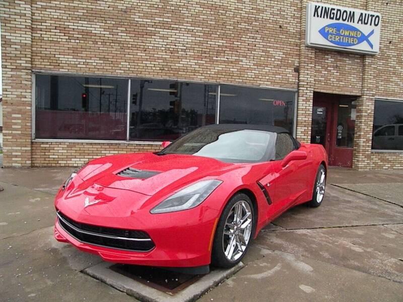 2019 Chevrolet Corvette for sale at Kingdom Auto Centers in Litchfield IL