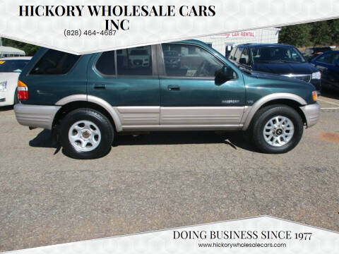 2002 Honda Passport for sale at Hickory Wholesale Cars Inc in Newton NC