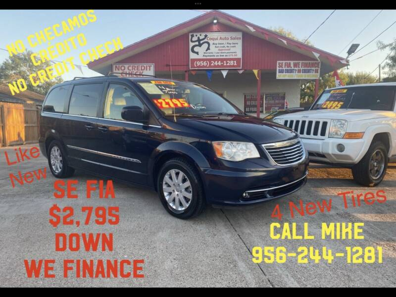 2014 Chrysler Town and Country for sale at Coqui Auto Sales in La Feria TX