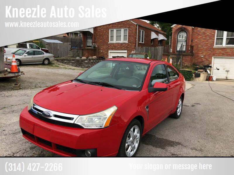 2008 Ford Focus for sale at Kneezle Auto Sales in Saint Louis MO