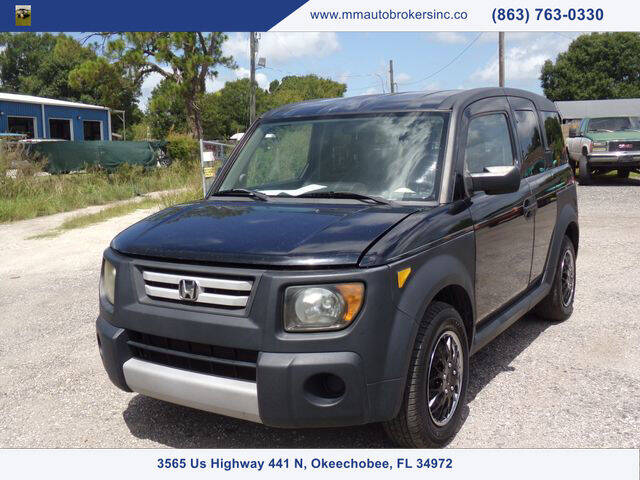 2007 Honda Element for sale at M & M AUTO BROKERS INC in Okeechobee FL