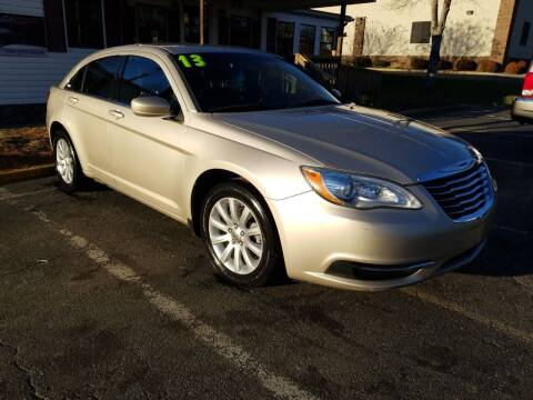 2013 Chrysler 200 for sale at TR MOTORS in Gastonia NC